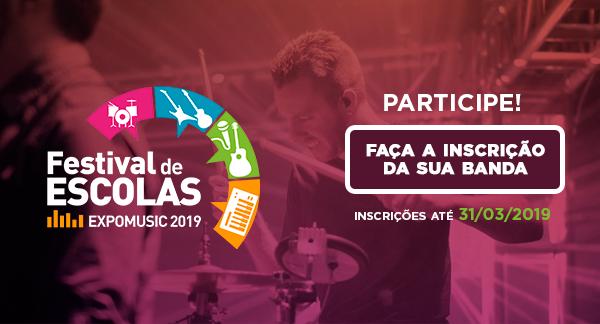 Festival de Escolas - EXPOMUSIC2019